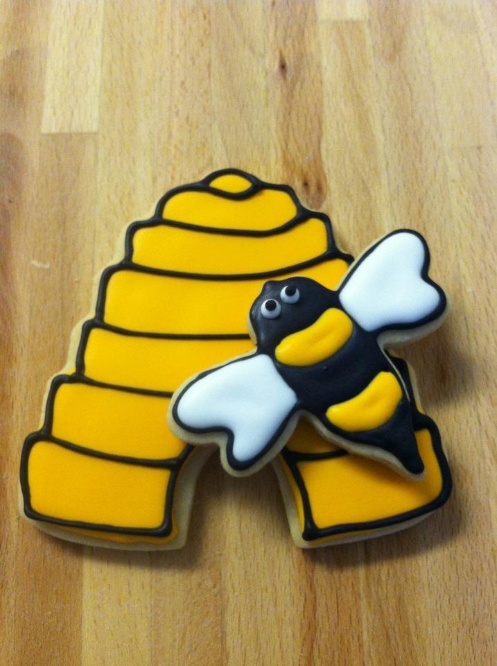 bumble bee cookie | Cookies | Pinterest