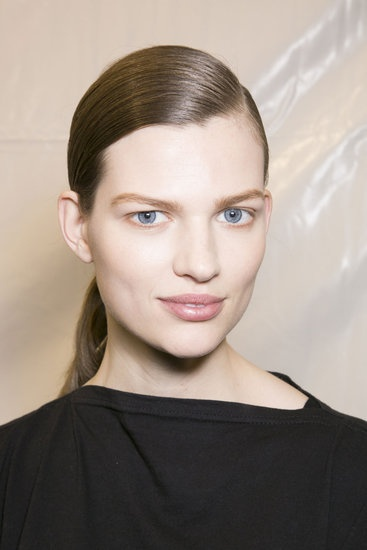 Classic hair and makeup from Chloe Fall 2013. #PFW