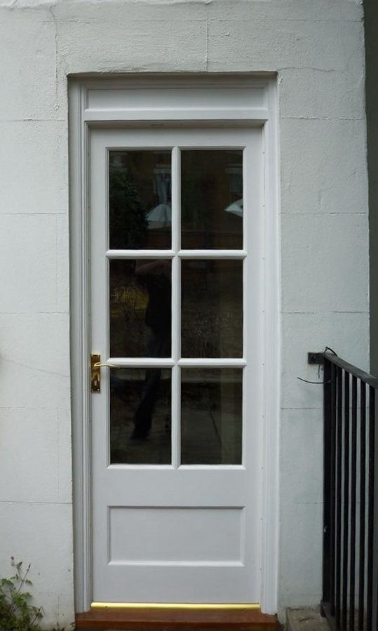 georgian rear door cotswood doors home pinterest