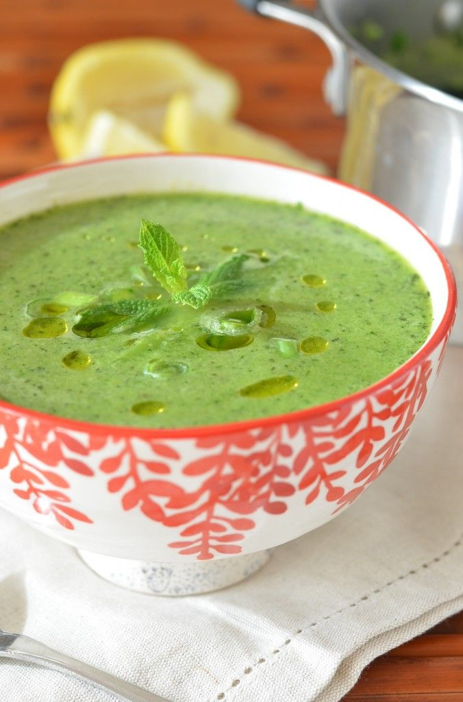 pea amp mint soup from coffee amp quinoa