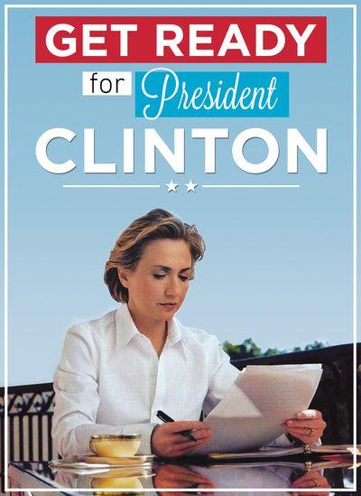 President Hillary Clinton Art Print by JLDesigns: pinterest.com/pin/10414642862489727