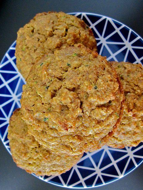 Pumpkin Zucchini Muffins | healthy(er) eats | Pinterest