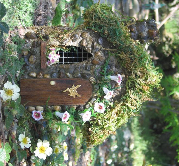 Fairie House Fairy Garden Ideas Pinterest