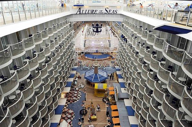 The interior of the allure of the seas travel pinterest for Allure of the seas interior