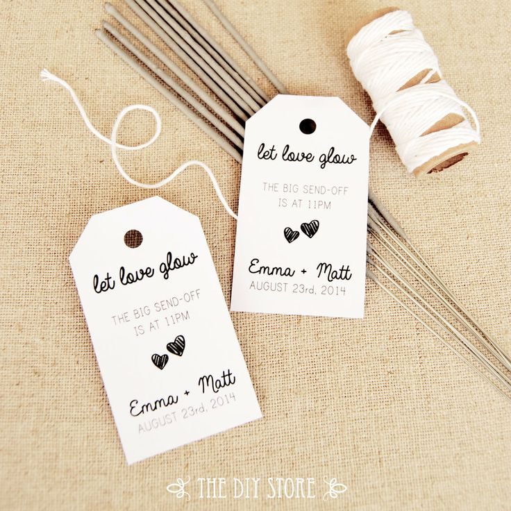 Wedding Gift Tags Template : Favor Tag Template, MEDIUM Two Small Hearts, Wedding Sparklers Tags ...