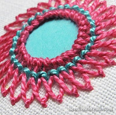 Shisha Embroidery Stitch Variation 3  Kutch Work And