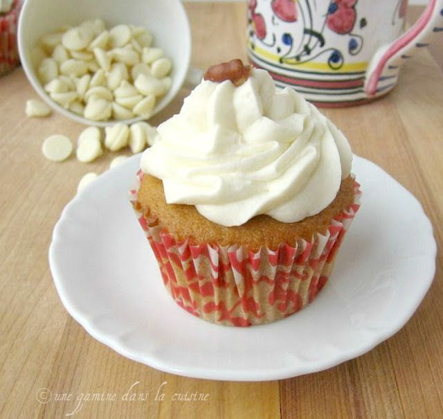 Butternut Squash Cupcakes with White Chocolate Frosting the Frosting ...