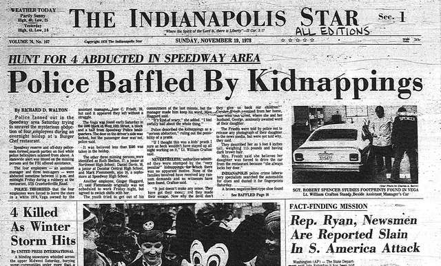 Burger Chef Murders 1978