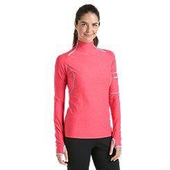 UPF 50+ Quick Zip Rash Guard: Sun Protective Clothing - Coolibar