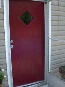 spanish red exterior paint from lowes manufactured home