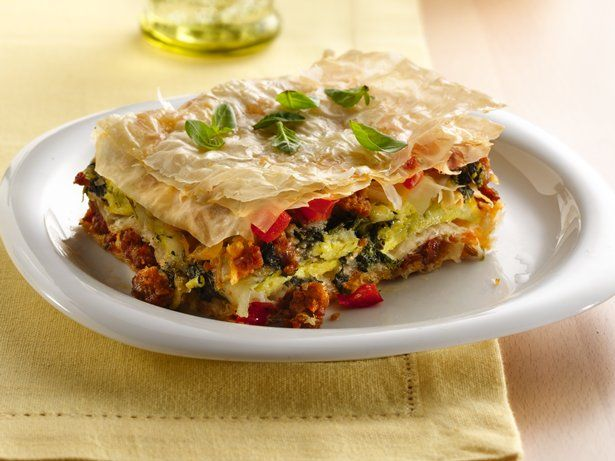 Phyllo Egg Breakfast Torta | Recipe
