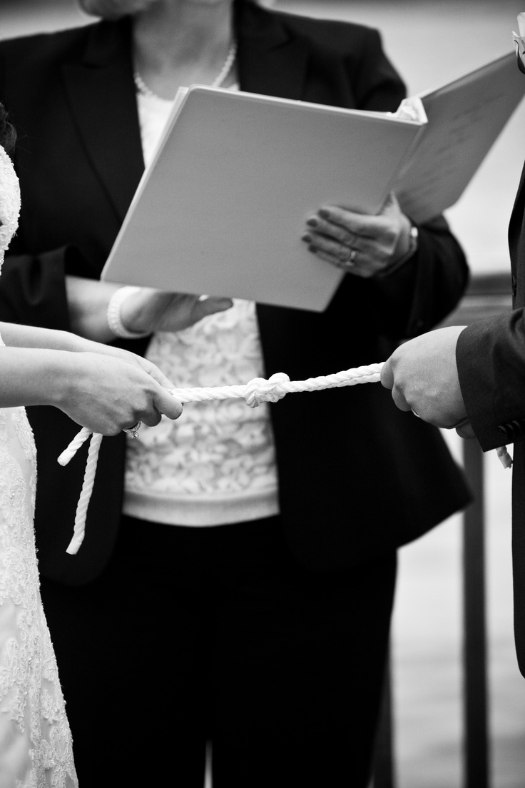 knot tying ceremony wedding