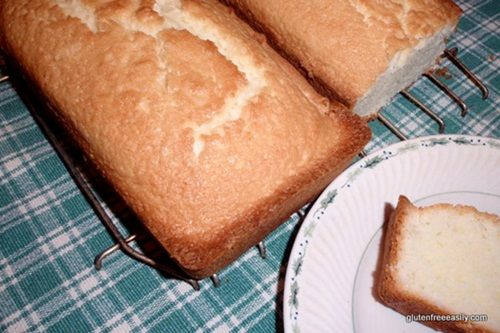 Dairy-free and Gluten-Free pound cake--I plan to make this and use it ...