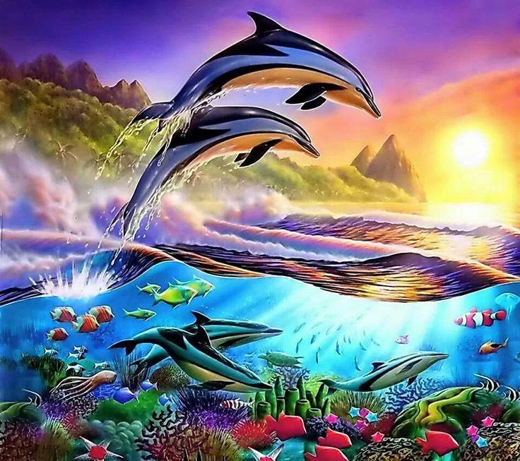 Beautiful sea life art! | Marine life