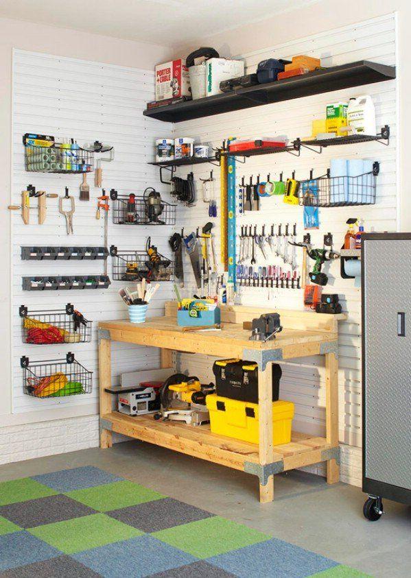 Garage organization tips casual cottage for Diy garage shop