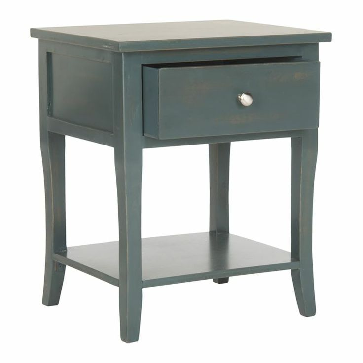 Coby Nightstand in Dark Teal For the Home