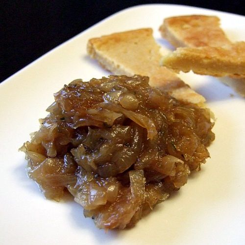 Onion Marmalade: 1 tbsp coconut oil 4 cups onion, sliced ¼ cup water ...