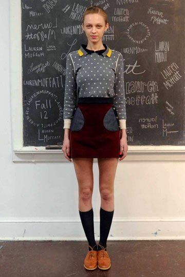 Lauren Moffatt - Fall '12 RTW