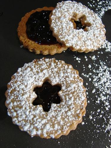 Linzer Sables | Cookie Cookie Cookies | Pinterest