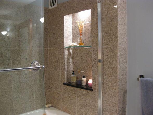 Luxury bath for small space our 60s bathroom was entirely for Church bathroom designs