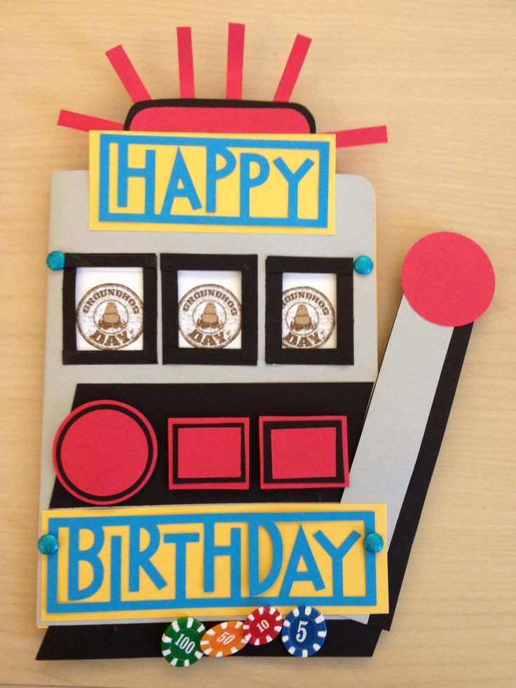 free slot machine birthday card