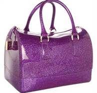 Sparkle Purple Large Jimmy Choo Handbag