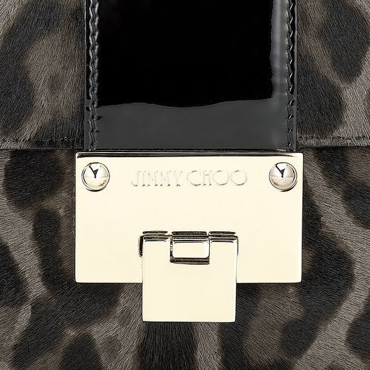 Jimmy choo leopard bag