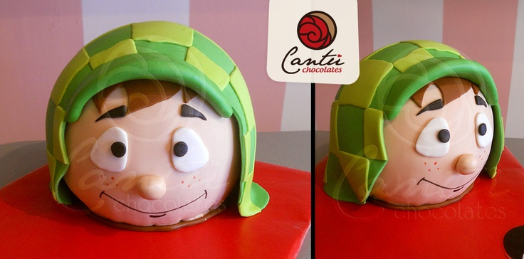 """El chavo del 8"" Cake https://www.facebook.com/Cantu.Chocolates"