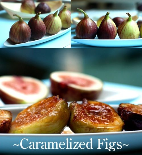 Yogurt With Caramelized Figs Recipe — Dishmaps