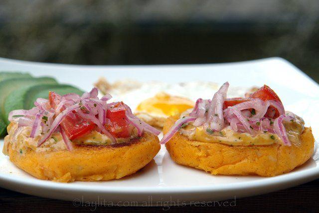 ... +Recipe Llapingachos or Ecuadorian stuffed potato patties | Recipe