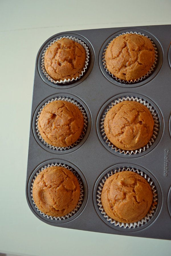 gluten free pumpkin cupcakes with cream cheese frosting -- great for ...