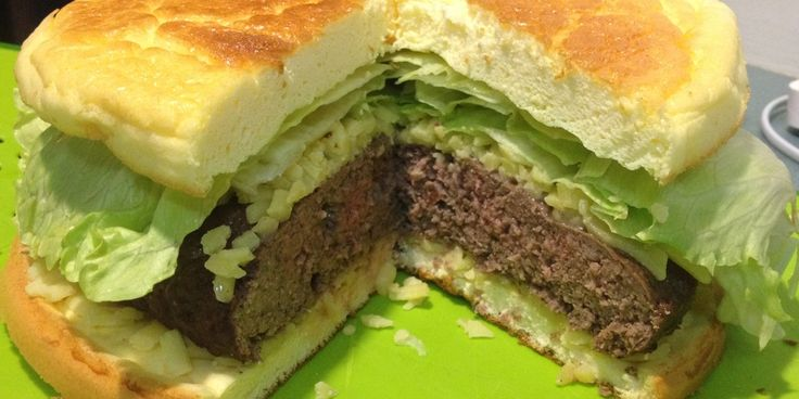 Low Carb Burger | Rezepte | Pinterest