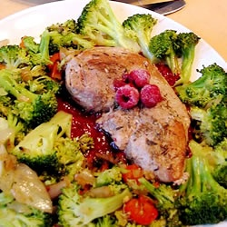 Pork Chops with Raspberry Sauce Allrecipes.com Let's hope this will ...