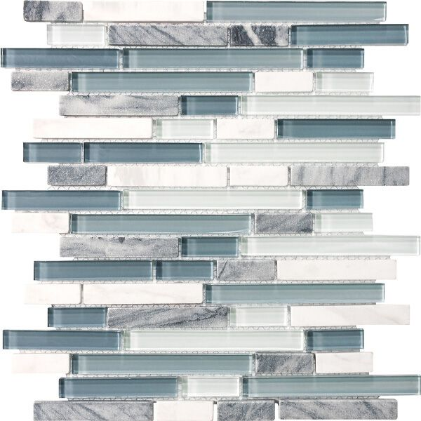 My Future Backsplash Tile Stone Solutions Waterfall White And G