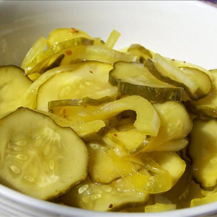 Easy Bread and Butter Pickles | Judie Lancaster | Pinterest