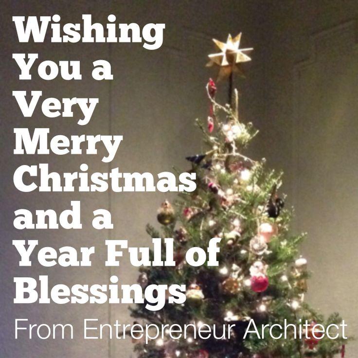 Merry Christmas from Entrepreneur Architect
