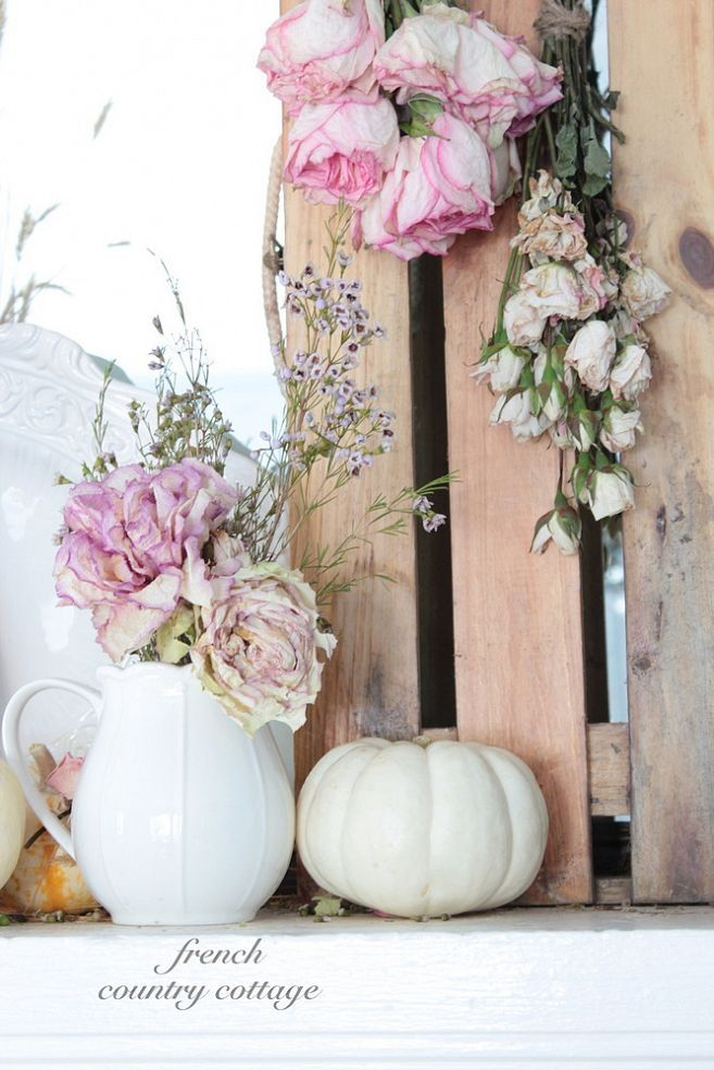 Shabby Mantel Decor Ideas..