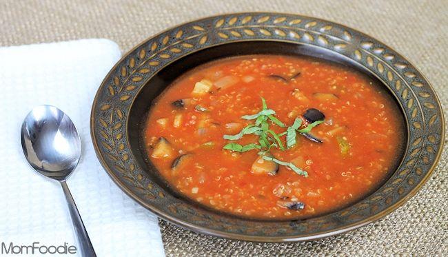 Ratatouille Quinoa Soup | Recipe