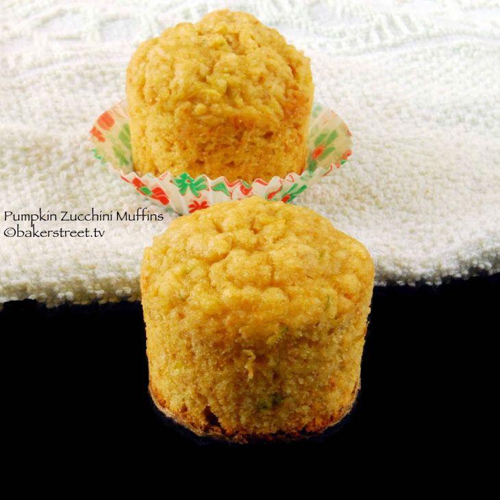 MuffinMonday: Pumpkin Zucchini Muffins Recipe