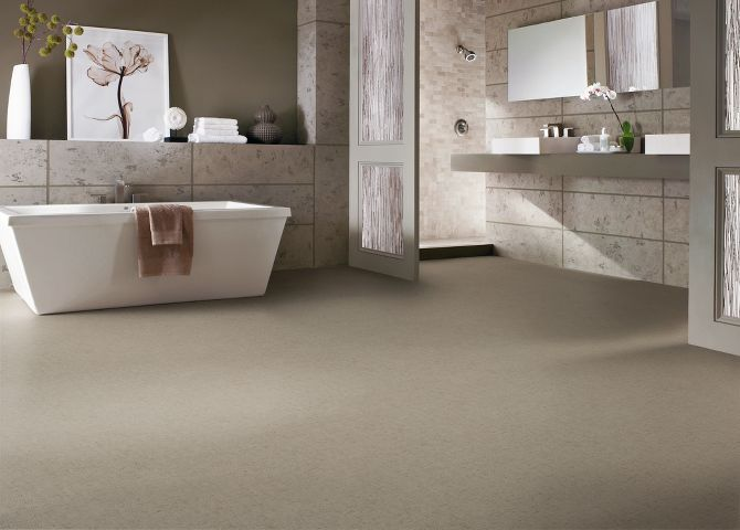 Vinyl Sheet Flooring With Wall Tile Home Sweet Bathroom Pinterest
