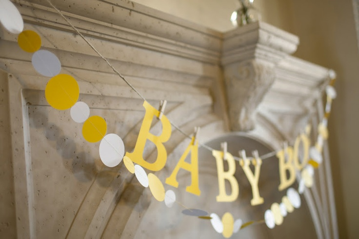 black and yellow baby shower ideas pinterest