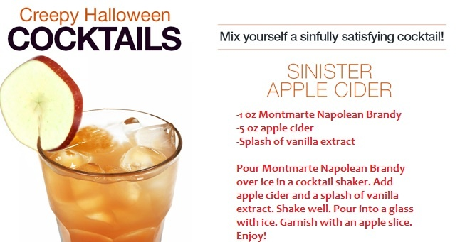 31 Days of Halloween - Sinister Apple Cider - Drink of the Day ...