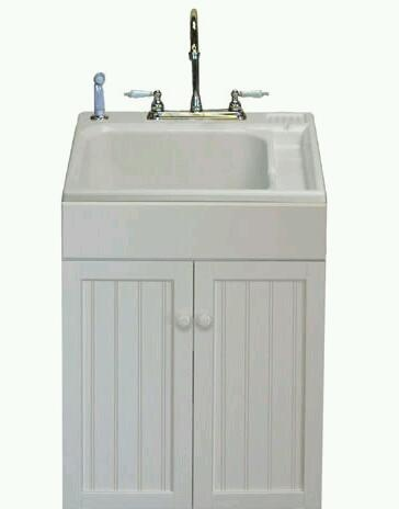 ... like this cabinet/sink base for my laundry tub in the mudroom