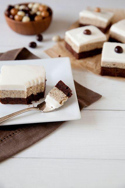 Espresso Cheesecake Brownies | Key ingredient: Chocolate | Pinterest