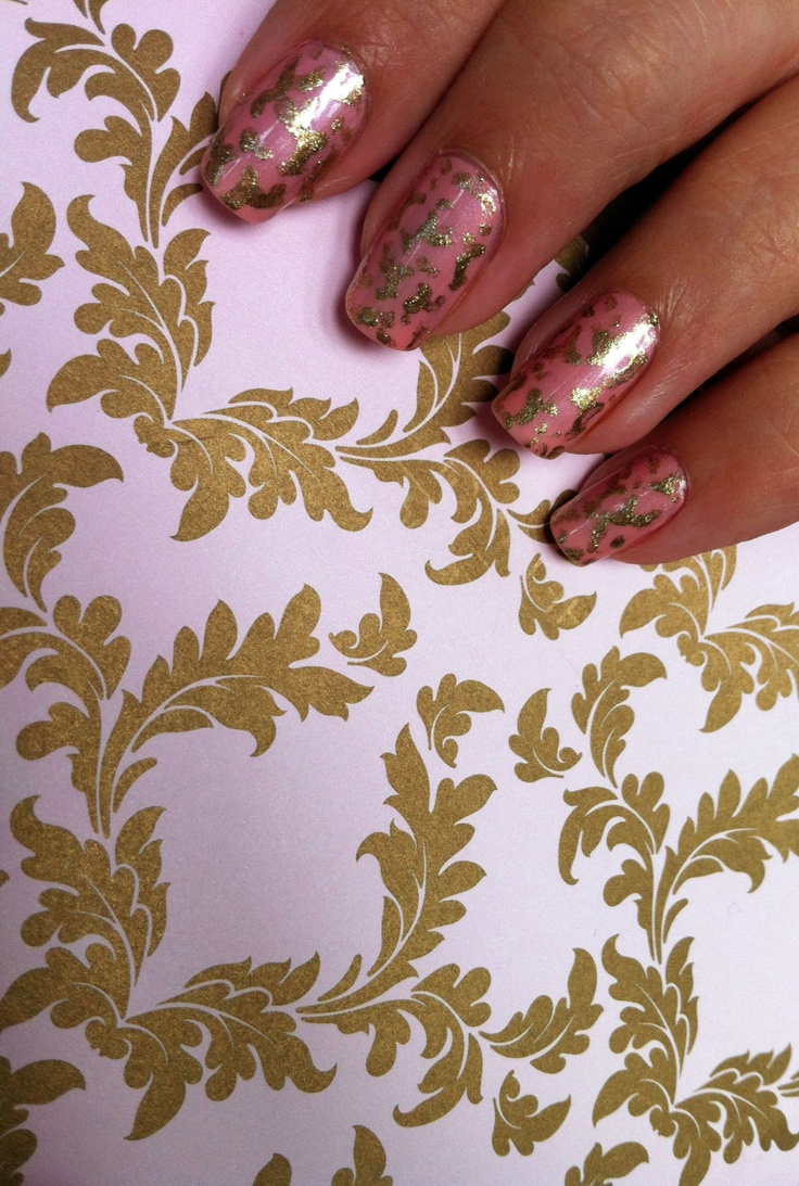 Langham Hotel nail art | Hotels | Pinterest