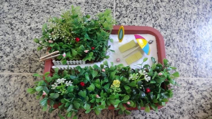 Mini garden artificial