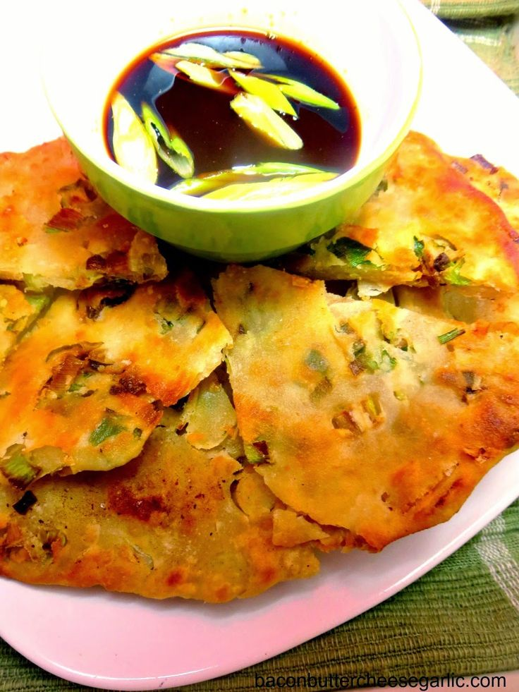 Crispy Scallion Pancakes...my oh my, if you like green onions, you ...