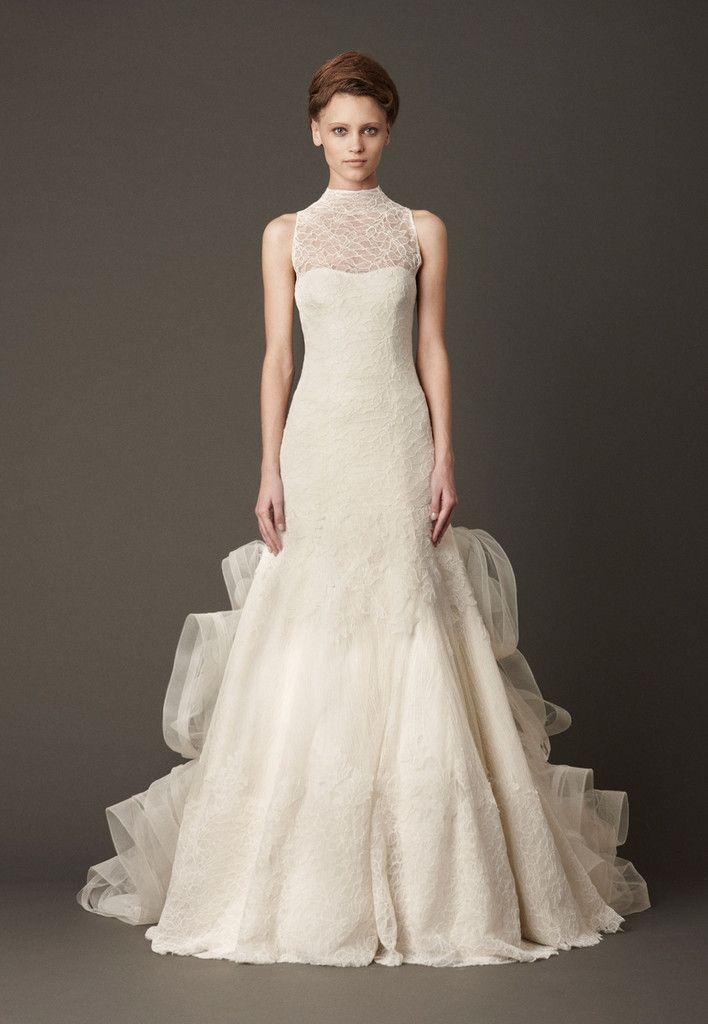 Vera Wang Lisette Corded Leaf Lace Wedding Dress
