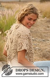 More Rose Crochet from Drops Design – 31 free patterns