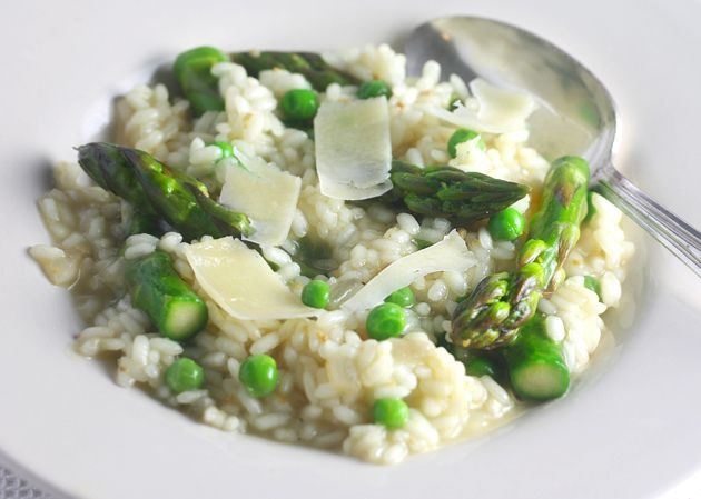 springtime risotto | All The Food. | Pinterest